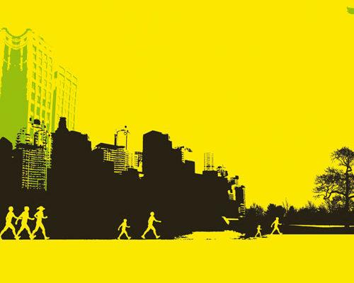 création illustration, plv, mailing, kit de communication pour adidas walking