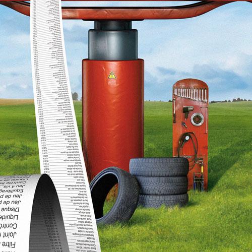 Création, compositing, montage image Bancassurance Crédit Mutuel