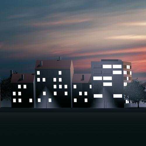 Création, modélisation et rendu 3D, système Led Osram à Molsheim