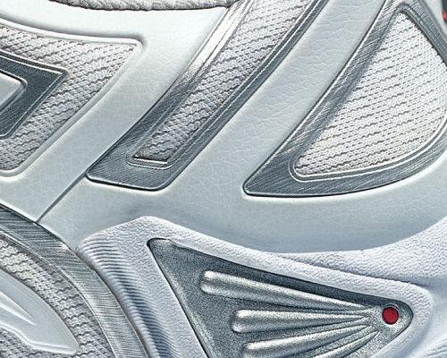 création annonce presse, montage image, chaussure Grid Vision Saucony