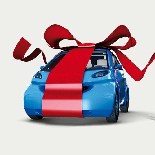 modélisation rendu 3D voiture assurance auto Crédit Mutuel