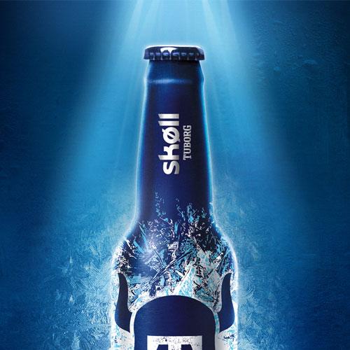 Compositing, montage photos pour la bière Skoll Tuborg des Brasseries Kronenbourg