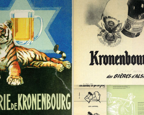 Création cahier de collection des Brasseries Kronenbourg