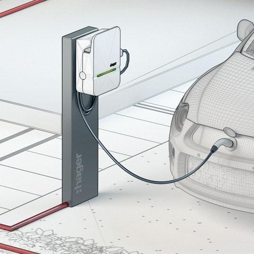 Modélisation et rendu 3D, Hager solutions domotique