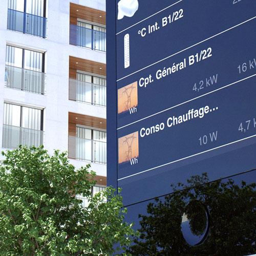 Modélisation et rendu 3D, Hager domotique résidentiel