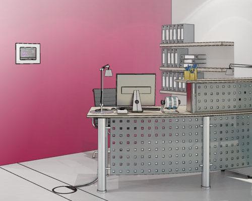 Modélisation et rendu 3D, Hager solutions pour PME