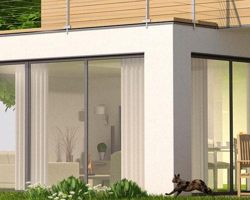 Modélisation et rendu 3D d'une maison pour Hager, service tout compris