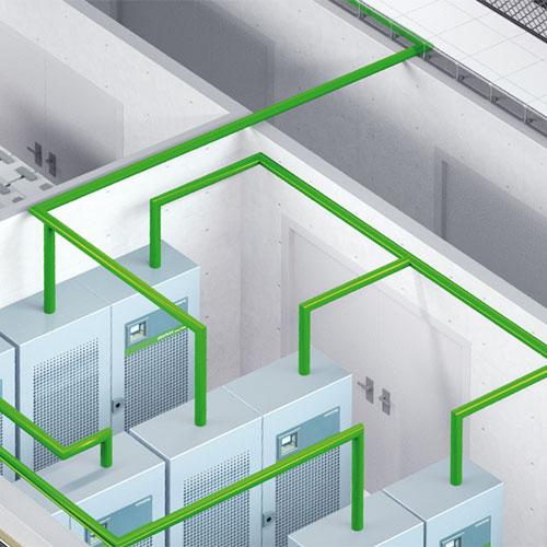 Modélisation et rendu 3D pour les solutions système et technique de Socomec pour les Data Center