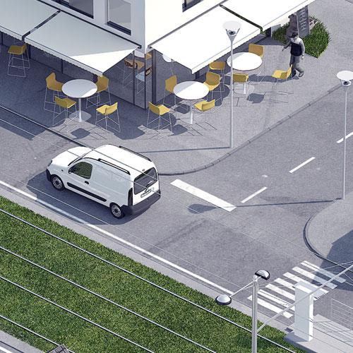 Modélisation et rendu 3D pour les solutions en distribution publique de Socomec, Benfeld