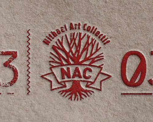 Création identité visuelle Collectif NAC, studio d'enregistrement à Strasbourg