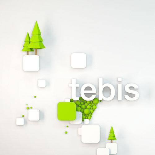 Création, modélisation et rendu 3D, Hager Tebis la domotique