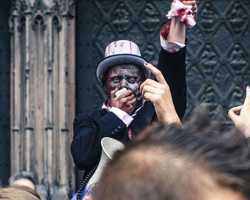 Photographie Zombie Walk à Strasbourg
