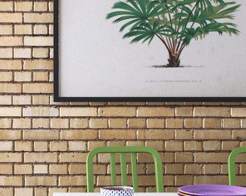 cuisine mur brique 3D cinema 4D vray