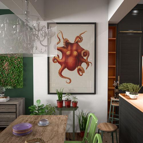 aménagement appartement, strasbourg, rénovation appartement loft, mobiliers sur-mesure, espace atypique